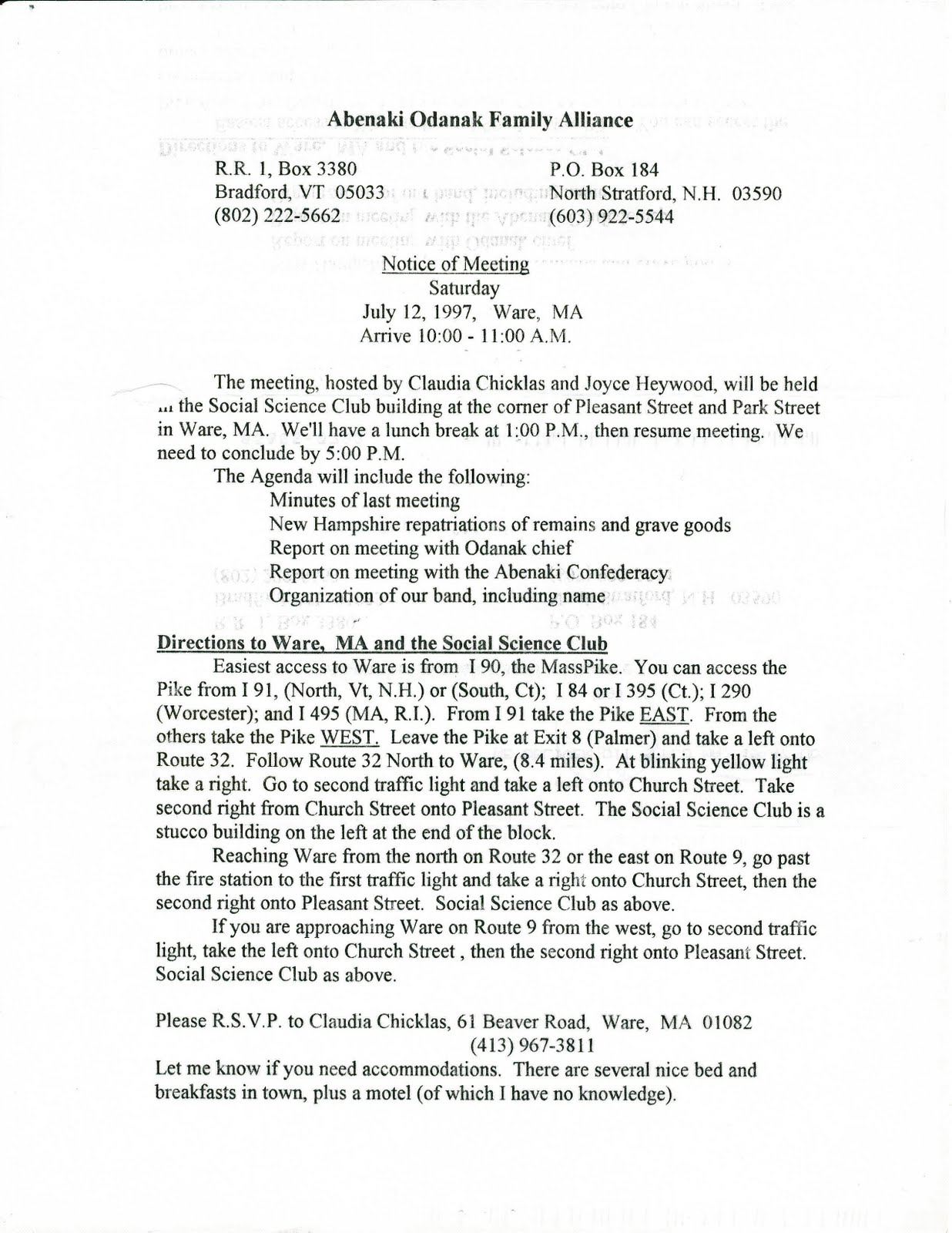 the reinvention of the alleged vermont and new hampshire abenakis 091710 - Chinese New Year 1997