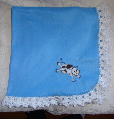 Free Crochet Edging Patterns For Fleece Blankets Pakbit For