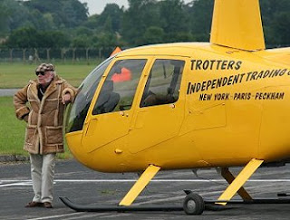 helicopter david jason
