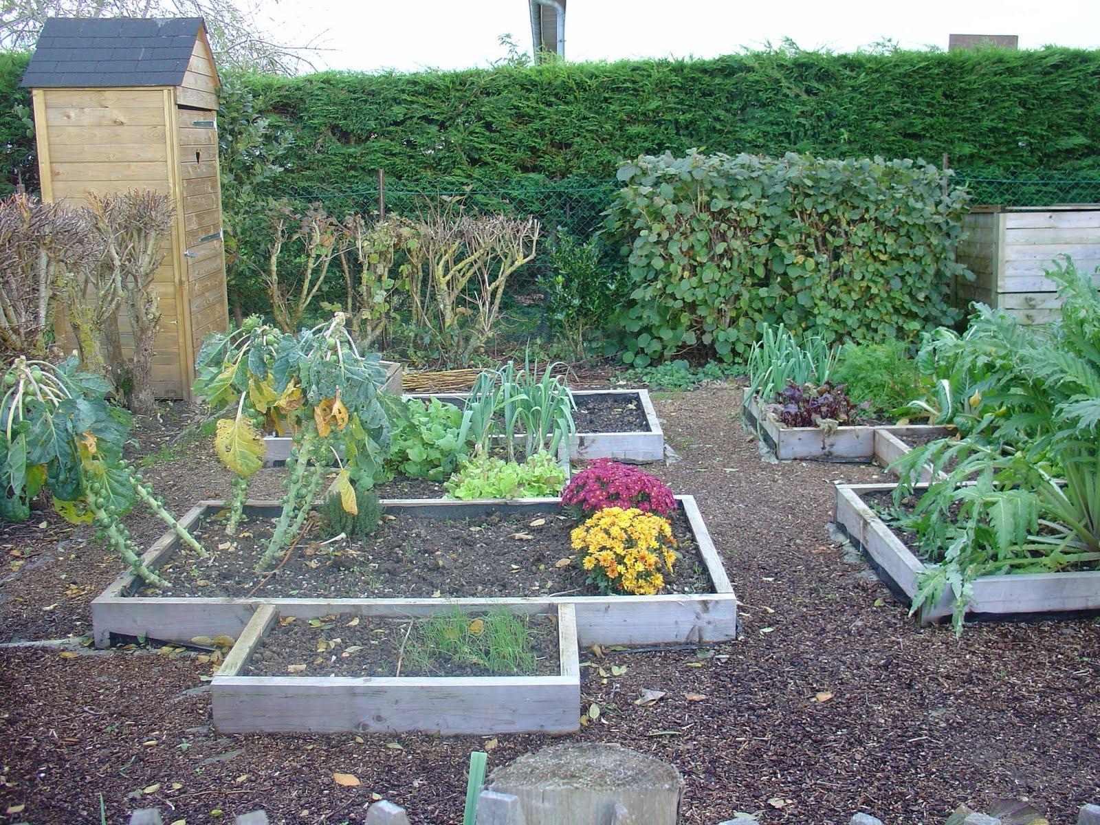 On verra au jardin potager de novembre for Au jardin potager