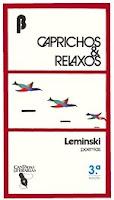 Capa do livro Caprichos e Relaxos