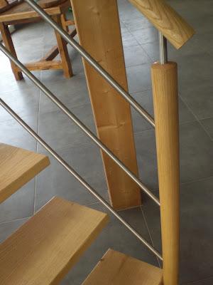 menuiserie david gires escalier bois alu. Black Bedroom Furniture Sets. Home Design Ideas