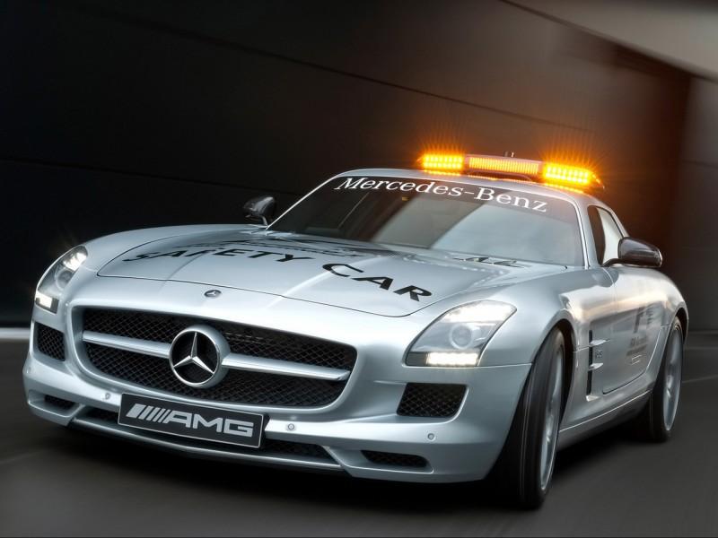 Mercedes Benz Sls Amg 2010. Mercedes-Benz SLS AMG F1