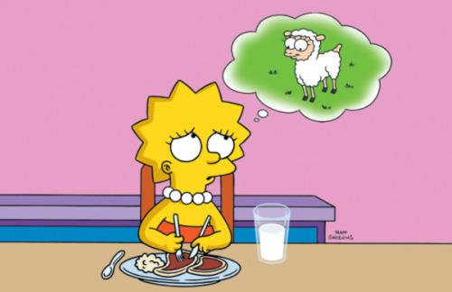 Tipos comunes de Vegetarianismo. (Más extras) Lisa-vegetariana