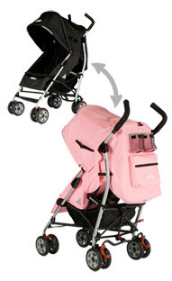 "Joovy ScooterX2 Double Stroller - Orangie - JOOVY - Toys ""R"" Us"