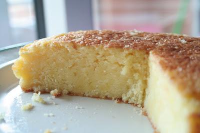 La recette du Cake à l'Orange