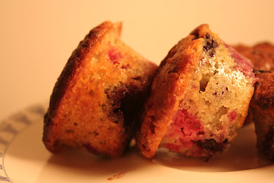 La recette des Muffins aux Fruits Rouges