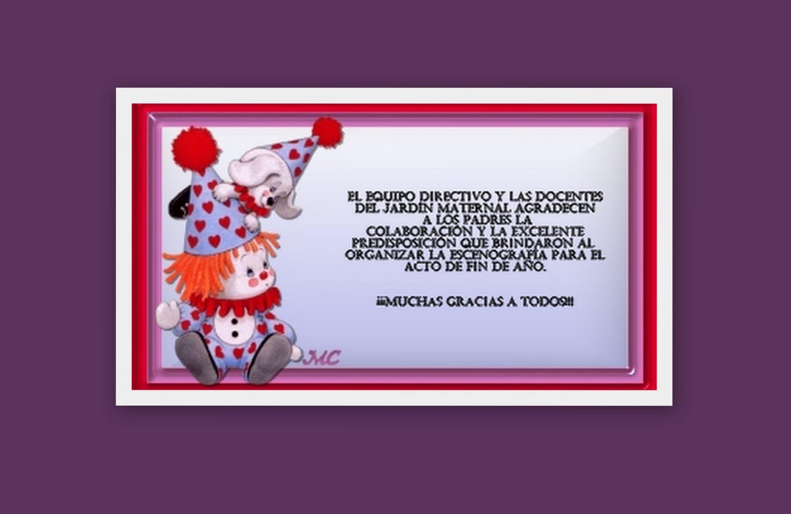 Ser feliz desde la ni ez jard n maternal agradecimientos for Jardin maternal unlp 2015