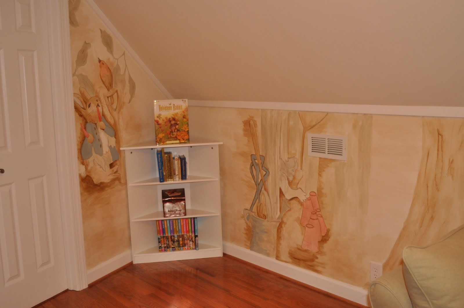 ... Peter Rabbit Mural Playroom ... Part 30