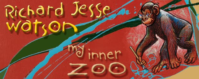 masthead for Richard's blog, &quot;My Inner Zoo&quot;