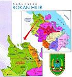 Peta Kabupaten Rokan Hilir