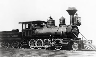 An 1880's Era St. Louis-San Francisco Railway Engine