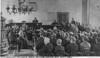 A Court Room Scene from the 1880's