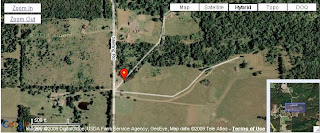 Click picture for a more detailed view of Fairview Cemetery's location in Pulaski County, Missouri.