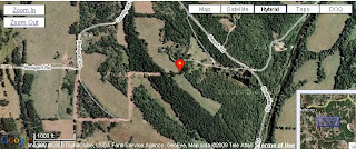 Click picture for larger view of Schlicht Cemetery's location in Pulaski County, Missouri.