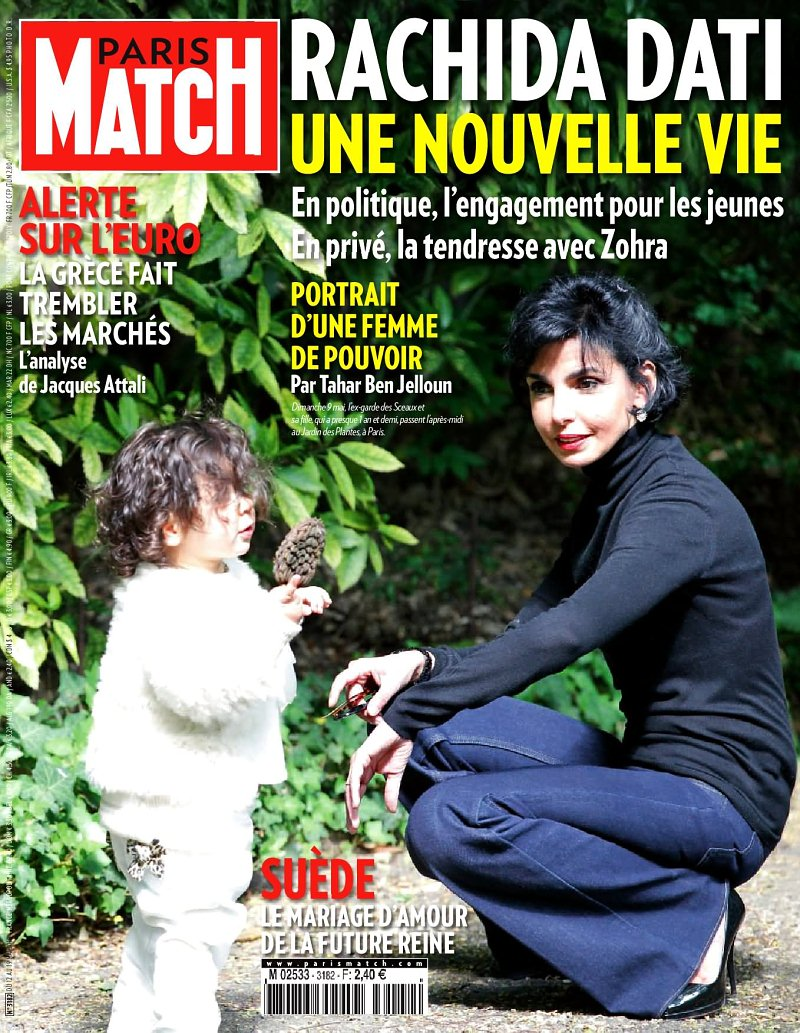 Zohra et Rachida Dati dans Paris Match (photo)