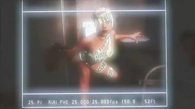 Making of Telephone Lady Gaga video