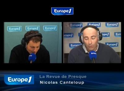 Revue de presque Nicolas canteloup Vendredi 16 avril 2010