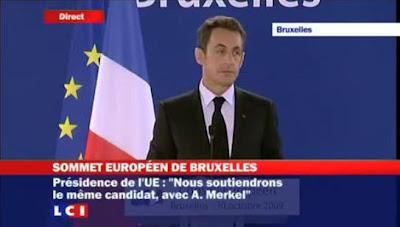 Nicolas Sarkozy Bruxelles