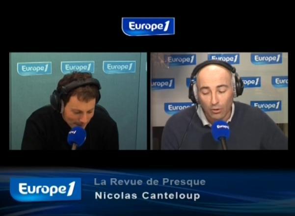 Revue de presque Nicolas Canteloup 2 juin 2010