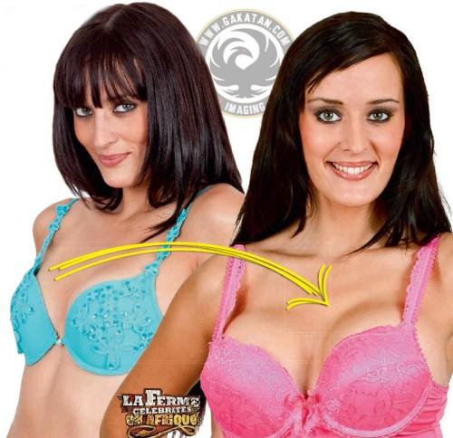 Kelly Bochenko change de seins dans Public