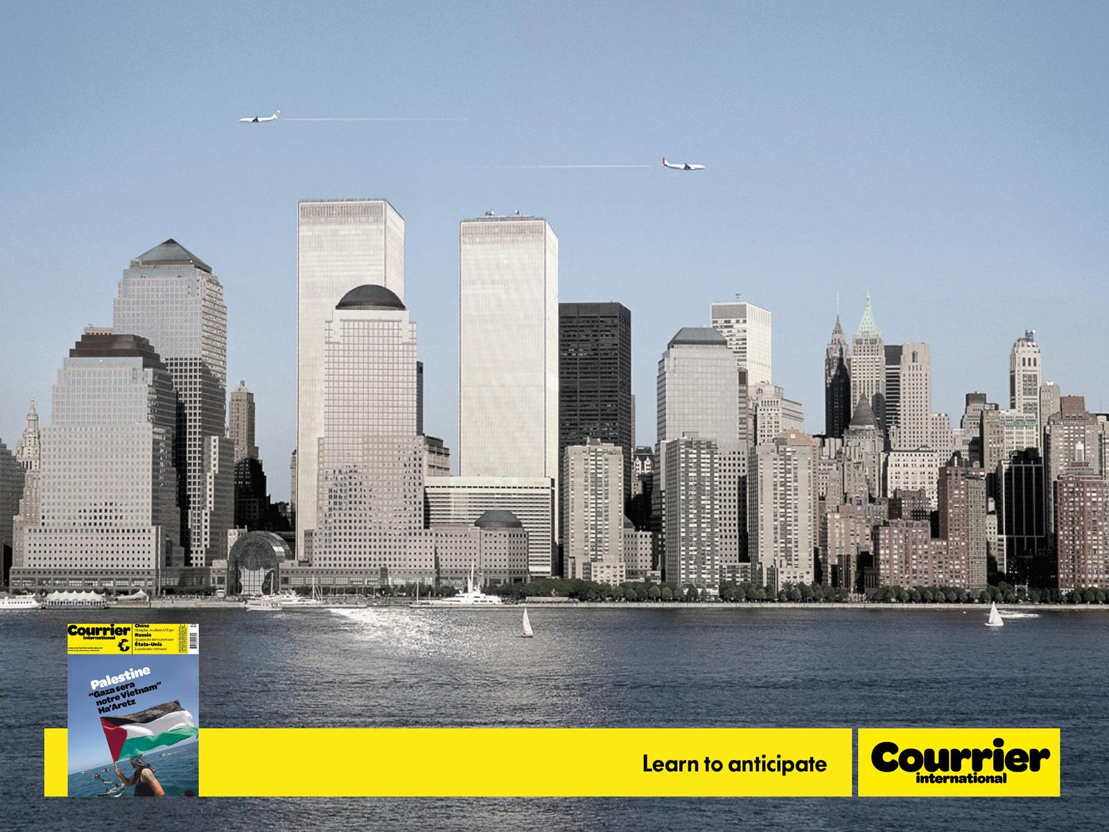 Pub courrier international 11 septembre