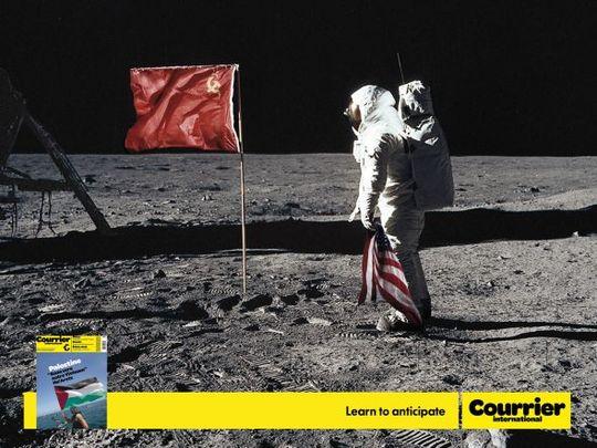Pub courrier international Lune