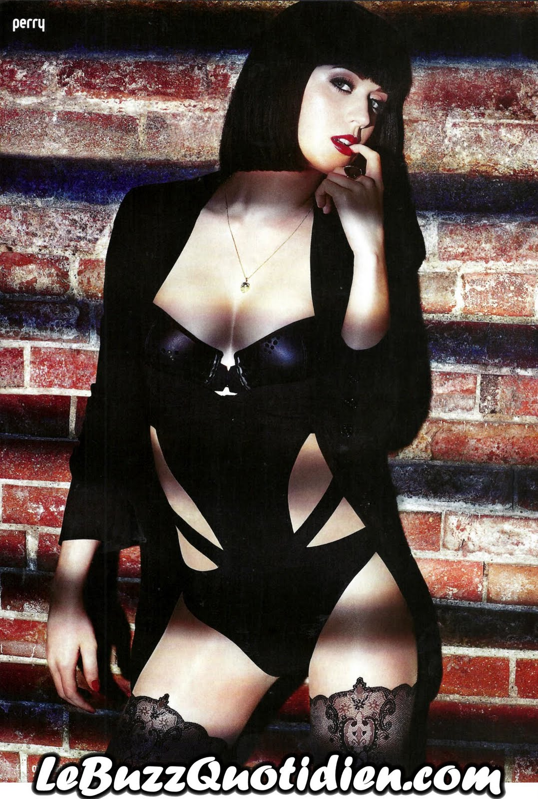 Katy Perry sexy Loaded Magazine