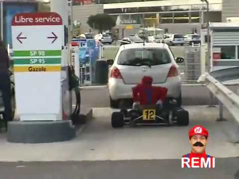 Rémi Gaillard Mario Kart 2
