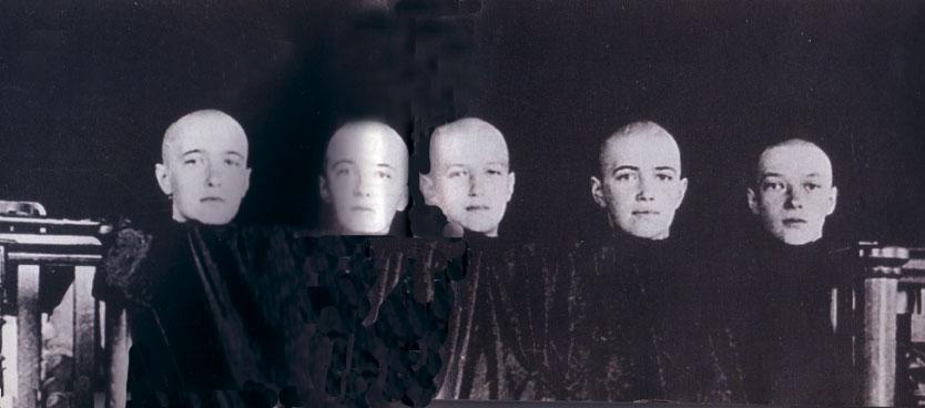 Fotos de los Romanov De-frente
