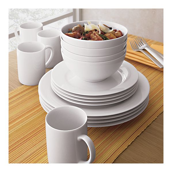 Top 5 + 5 Basic Dinnerware: All White + Muted Colors | Chasing ...