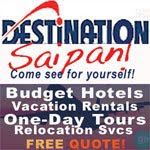 Destination Saipan advertisement