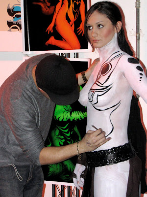 Body Painting White