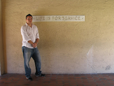 life is for service