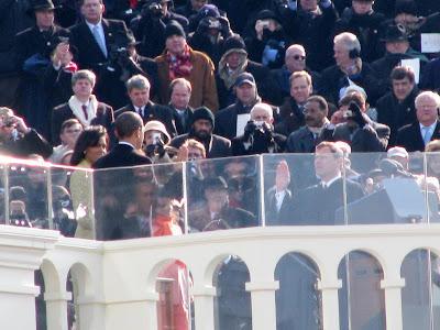 president barack obama swearing in