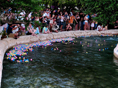 2009 duck race for cancer