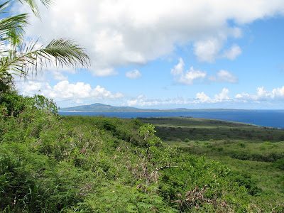 view of saipan from tinian