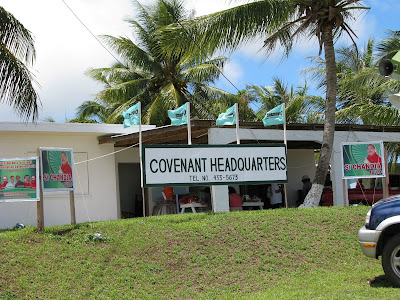 covenant party headquarters
