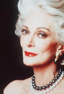 Carmen dell orefice. La modelo más vieja
