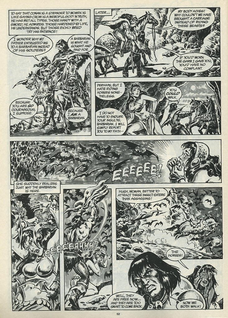 The Savage Sword Of Conan Issue #185 #186 - English 54