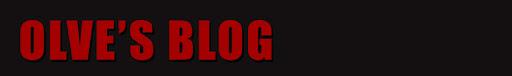 Olve's Blog
