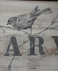 HAND PAINTED SIGN...by Dore\