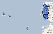 Mapa dos Blogues das Bibliotecas Escolares Portuguesas