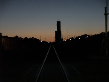 Rail Line Twilight