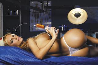 enfermera hot en tanga