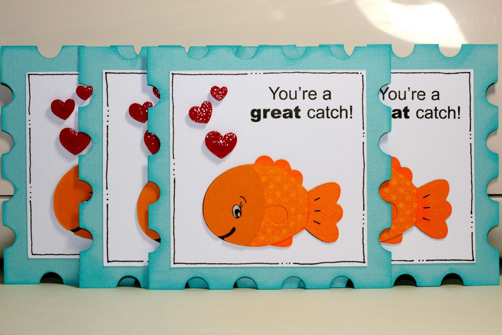 Rock Paper Cricut: Youre a GREAT Catch