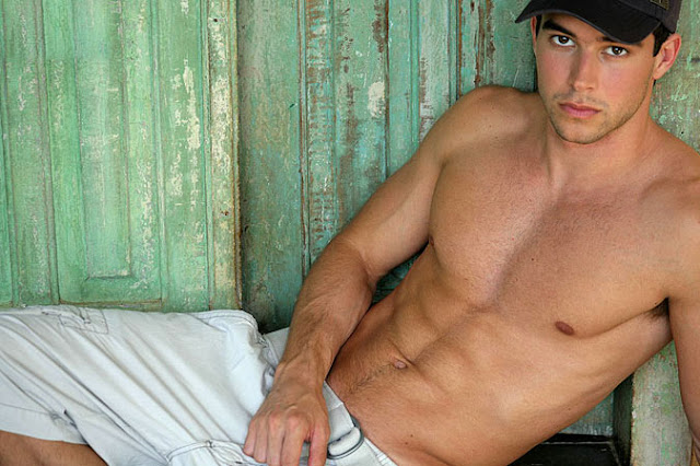 Remote-controlled Hairbrush's Man of the Month for June 2010 - Brazilian model Bernardo Velasco