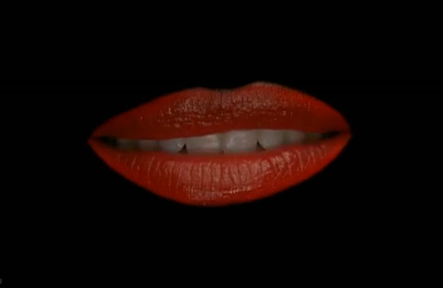 opening lips from the Glee Rocky Horror Show