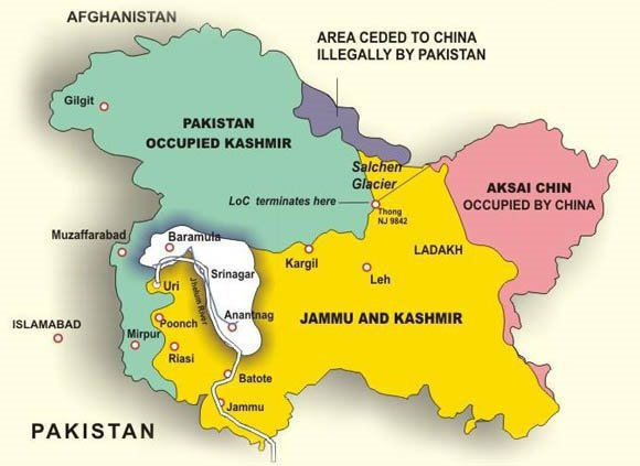Actual Map Of India.Jammu Kashmir Stark Realities Kashmir Is Fast Becoming World S