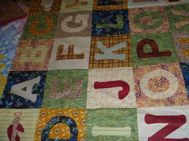 Abecedario patchwork